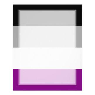 Asexual Pride Flag 11.5 Cm X 14 Cm Flyer
