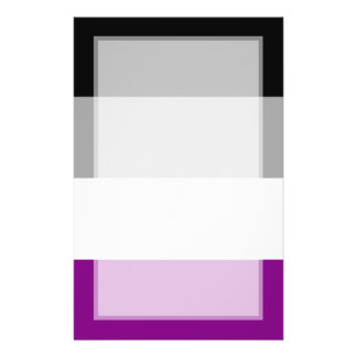 Asexual Pride Flag 14 Cm X 21.5 Cm Flyer