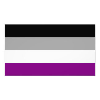 Asexual Pride Flag Photo Print