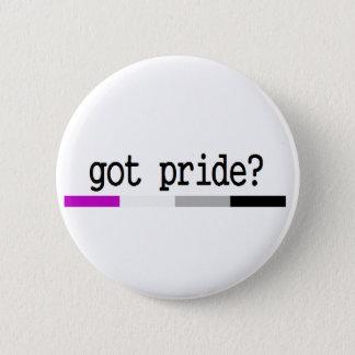 "Asexual Pride ""Got Pride?"" keychain 6 Cm Round Badge"