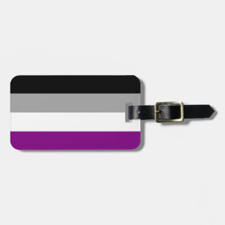 Asexual Pride Luggage Tag