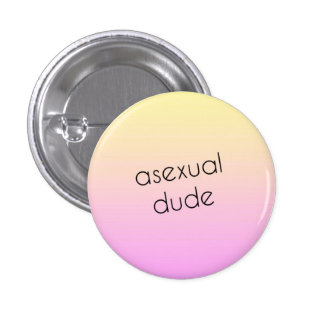 Asexual Pride pin - asexual dude