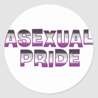Asexual Pride Stickers