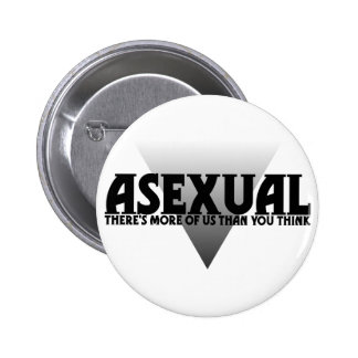 Asexual: There's More of Us Than You Think 6 Cm Round Badge