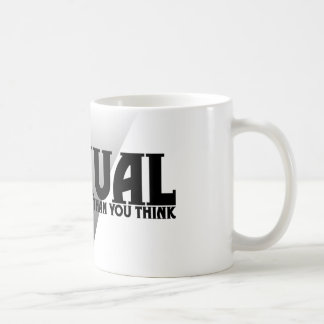 Asexual: There's More of Us Than You Think Basic White Mug