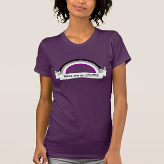 Asexuality rainbow pride T-Shirt