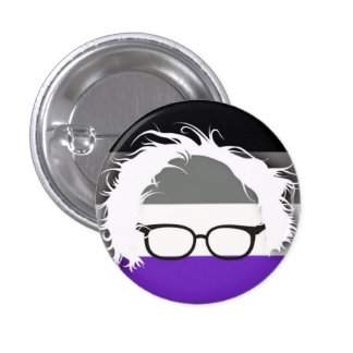 Asexuals for Bernie Sanders 3 Cm Round Badge