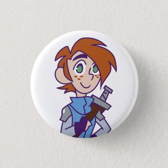 Ash 3 Cm Round Badge