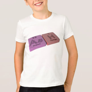 Ash as As Arsenic and H Hydrogen T-Shirt
