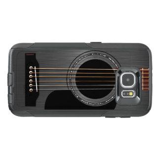 Ash Black Acoustic Guitar OtterBox Samsung Galaxy S6 Case