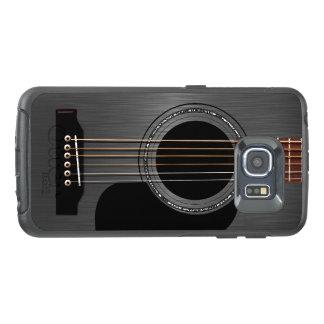Ash Black Acoustic Guitar OtterBox Samsung Galaxy S6 Edge Case
