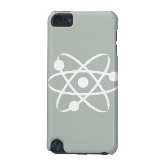 Ash Gray Atom iPod Touch (5th Generation) Cover