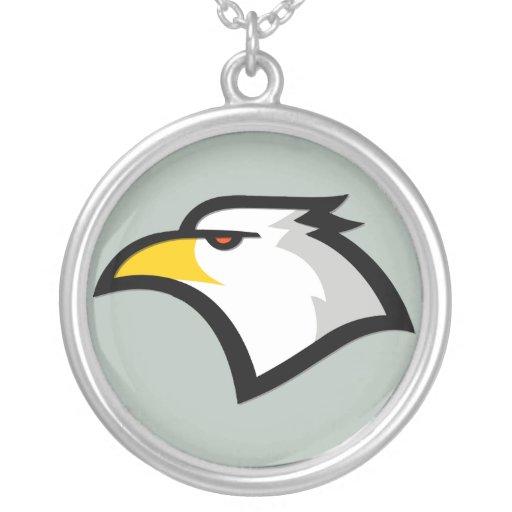 Ash Gray Bald Eagle Pendant