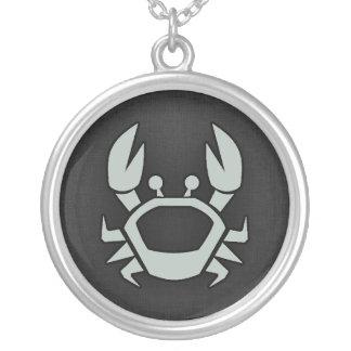 Ash Gray Crab Pendants