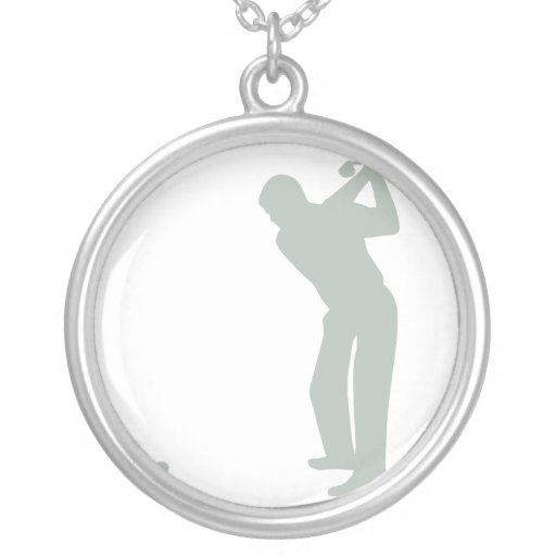 Ash Gray Golf Necklaces