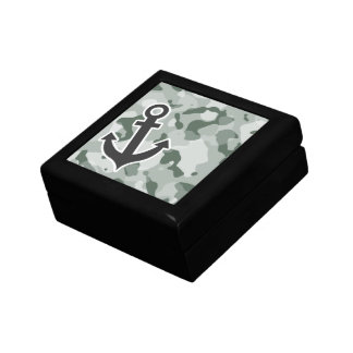 Ash Gray; Grey Camo; Anchor Gift Box