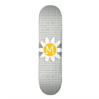 Ash Gray; Grey Houndstooth; Daisy Skateboards
