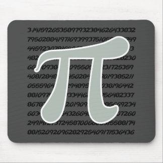 Ash Gray Pi Symbol Mouse Pad