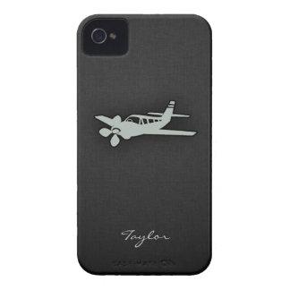 Ash Gray Plane Case-Mate iPhone 4 Cases