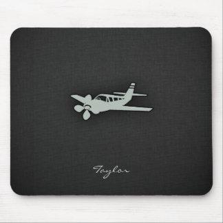 Ash Gray Plane Mouse Mat