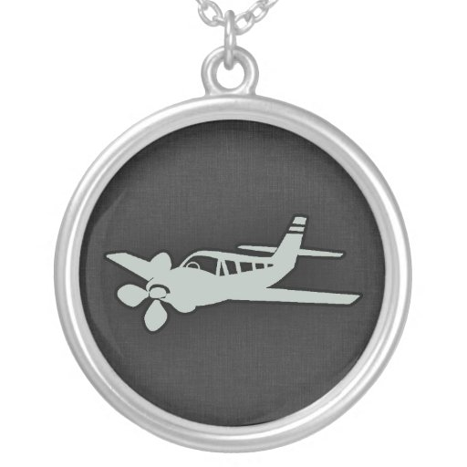 Ash Gray Plane Jewelry