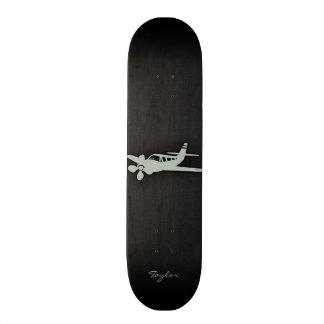 Ash Gray Plane Skateboard