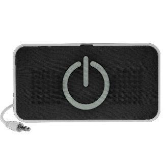 Ash Gray Power Button Travelling Speaker