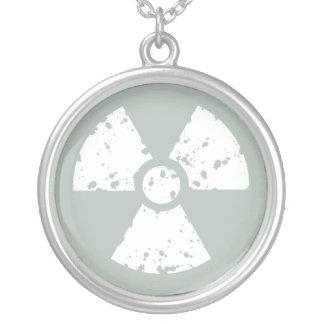 Ash Gray Radioactive Custom Necklace