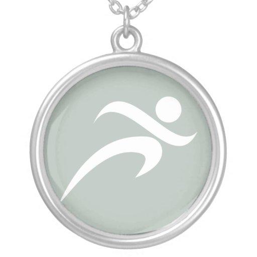 Ash Gray Running Jewelry