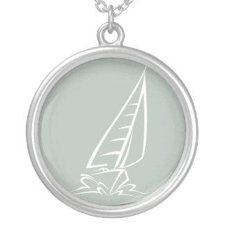 Ash Gray Sailing Pendants