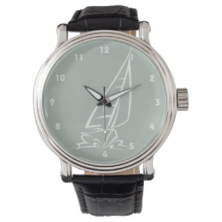 Ash Gray Sailing Wristwatch