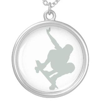 Ash Gray Skater Custom Necklace
