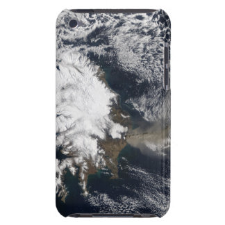Ash plume from Eyjafjallajokull Volcano, Icelan iPod Touch Case