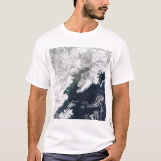 Ash plume from Mount Redoubt, Alaska T-Shirt