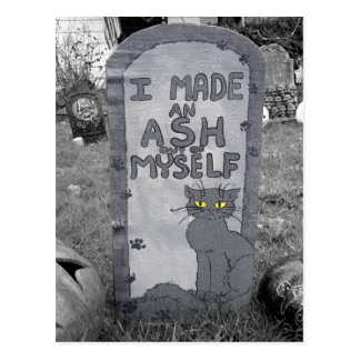 Ash Tombstone Postcards