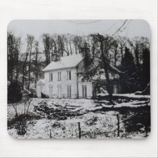 Asham House near Beddingham in East Sussex Mouse Mat