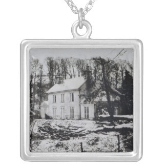 Asham House near Beddingham in East Sussex Silver Plated Necklace