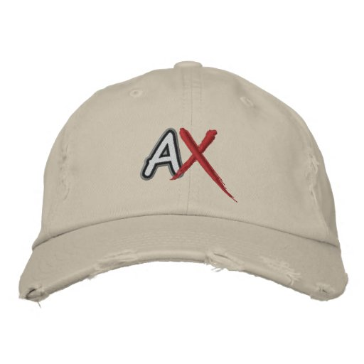 AshcanComix Small Logo Hat Embroidered Baseball Caps