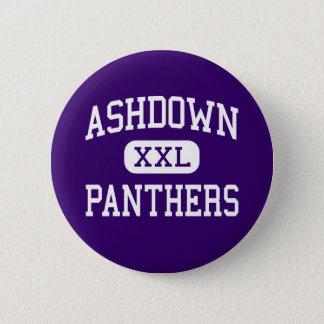 Ashdown - Panthers - High - Ashdown Arkansas 6 Cm Round Badge