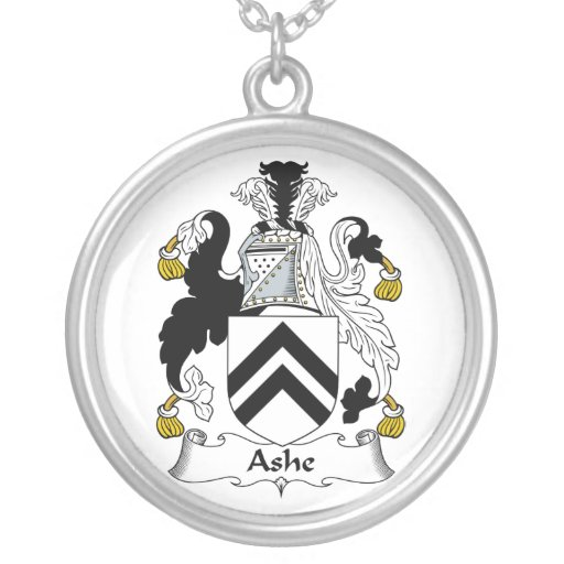 Ashe Family Crest Custom Necklace
