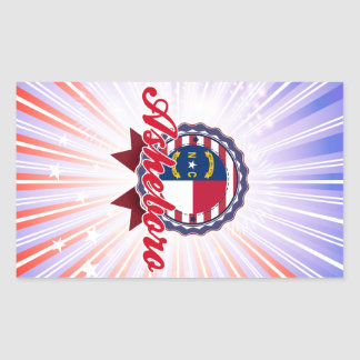 Asheboro, NC Rectangular Sticker