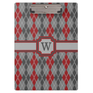 Ashes and Embers Argyle Clipboard