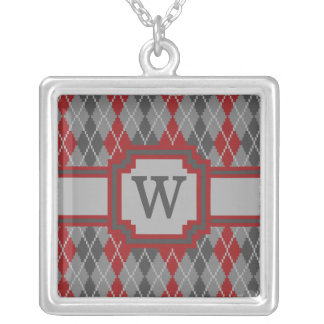 Ashes and Embers Argyle Necklace