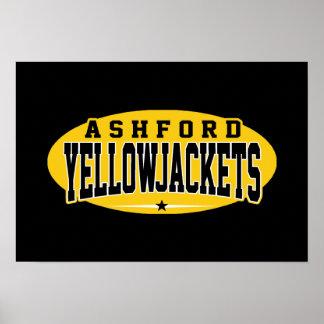 Ashford High School; Yellowjackets Poster