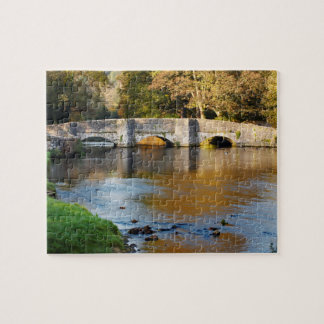 Ashford in the Water Derbyshire souvenir photo Jigsaw Puzzle