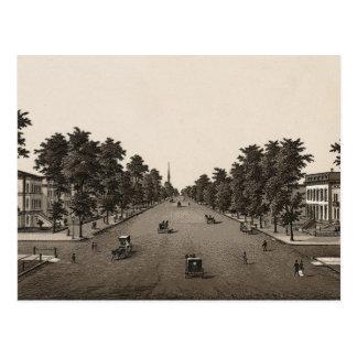 Ashland Avenue, Chicago (C. 1880) Postcard