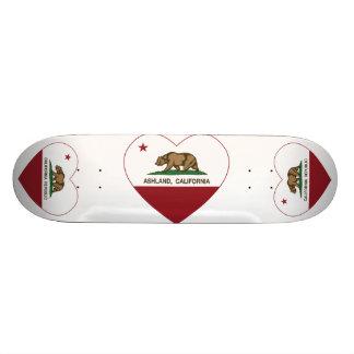 Ashland California Republic Heart Custom Skateboard