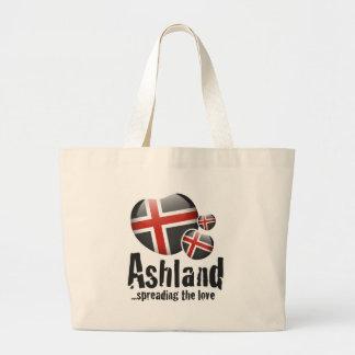 Ashland Love Large Tote Bag
