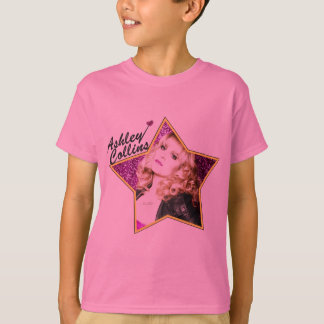 Ashley Collins Kids Star Pink T Shirt. T-Shirt