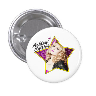 Ashley Collins Star Pin Badge.